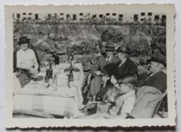 Photographie Originale 64 Chennevières 1939 Plusieurs Personnages - Lieux