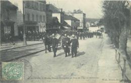 SAINT CYR L'ECOLE - Route Nationale Et Rue De L'école Militaire - St. Cyr L'Ecole