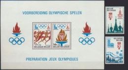 --- 1978 BELGIQUE _ Yvert : 1908 / 1911** + BF53** - Michel : 1965 / 1966** + Block 47** - Belgium