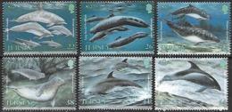 Jersey   2000   Sc#951-6  Whales Set MNH  2016 Scott Value $8.85 - Jersey