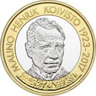 """FINLANDIA  5€ 2.018  2018  BIMETALICA """"MAUNO KOIVISTO""""  SC/UNC T-DL-12.299 - Finland"""