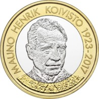 "FINLANDIA  5€ 2.018  2018  BIMETALICA ""MAUNO KOIVISTO""  SC/UNC T-DL-12.299 - Finlandía"
