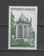"""FRANCE / 1971 / Y&T N° 1683 ** : """"Touristique"""" (Sainte Chapelle De Riom) X 1 - Gomme D'origine Intacte - France"""