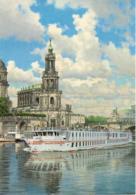 Fahrgastschiff PRINZESSIN VON PREUSSEN (in Dresden) - Reederei Peter Deilmann (Company Issue) - Paquebots