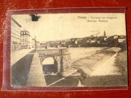 (FP.A02) FIRENZE - TERRAZZA SUL LUNGARNO AMERIGO VESPUCCI (LUNG'ARNO) - Firenze