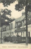 RAMBOUILLET - Au Rondeau Café Restaurant, Guitton, épicerie Mercerie. - Rambouillet