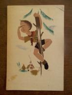 Oude Postkaart  1946 Scouts Met Aparte Stempel  ZOTTEGEM - Padvinderij