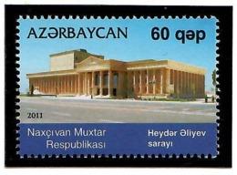 Azerbaijan 2011 . Heydar Aliev  Palace In Nakhichevan. 1v: 60 .  Michel # 852 - Azerbaiján
