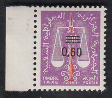 Algérie Timbre Taxe 0.60 - Algérie (1962-...)