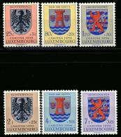 Luxembourg 0520/25** - Caritas 1956 -MNH- - Luxembourg