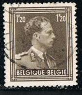 BELGIUM-BELGIQUE 1950 Y&T N°845 King Leopold III - Used Stamps
