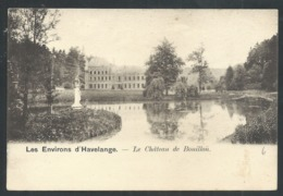 1.1 // CPA - Environs D' HAVELANGE - Château De Bouillon - Nels Série 77 N° 7   // - Havelange