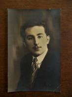 Oude Foto-postkaar  Tvan MAN   Photo  ADEX   Rue St- Job ALOST - Persone Identificate