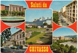 Saluti Da CHIVASSO - Vedute - Altre Città