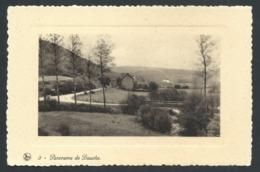 """1.1 // CPA - Panorama De BAUCHE - Yvoir - Carte Publicitaire """"La Bonne Auberge """" Evrehailles - Nels   // - Yvoir"""
