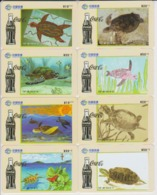 COCA COLA - CHINA-05 - TURTLE - SET OF 8 CARDS - China