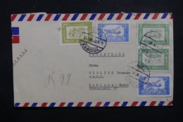AFGHANISTAN - Enveloppe De Kaboul Pour L 'Allemagne En 1969, Affranchissement Plaisant  - L 44028 - Afghanistan