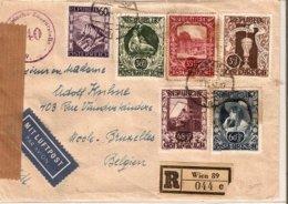 Austria 2/VII/1947 LP Reco  D1209 - 1945-.... 2ª República