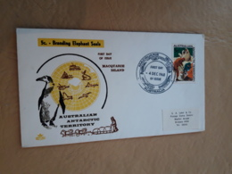 Territoire Australien Antarctique Fdc 1968 - FDC