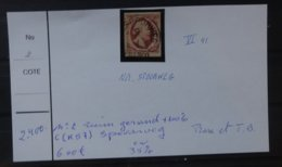 NEDERLAND   1852    Nr. 2   VI  41     Ruim Gerand C (K57)  Spoorweg   + 100 %    Zie Foto - Period 1852-1890 (Willem III)