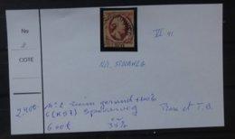 NEDERLAND   1852    Nr. 2   VI  41     Ruim Gerand C (K57)  Spoorweg   + 100 %    Zie Foto - 1852-1890 (Guillaume III)