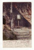 Slovakia  Trentschin Trenčín  Trencsén Teplicz RAUBERHOHLE AM KLEPACS, RABLOBARLANG A KLEPACSON 1905 - Slovakia