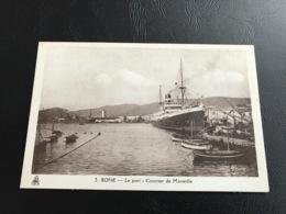 2 - BONE Le Port - Courrier De Marseille - Annaba (Bône)
