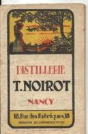 Livret Ancien DISTILLERIE T. NOIROT à NANCY - Livres, BD, Revues