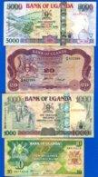 Ouganda  4  Billets - Uganda