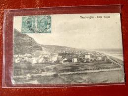 (FP.A02) VENTIMIGLIA - PANORAMA CITTà BASSA (IMPERIA) - Imperia