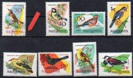 Ungarn 1961 MiNr. 1807 O/used , 1808-1815 **/mnh ; Singvögel - Hungary
