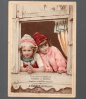 Saint Nazaire  (44 Loire Atlantique) Chromo HAUTON  Deux Enfants à La Fenêtre (PPP20709) - Autres