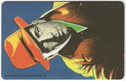 GERMANY O-Serie B-021 - 158B 07.92 - Painting, Actor, Humphrey Bogart - Used - Deutschland