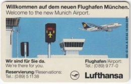 GERMANY O-Serie B-025 - 144A 07.92 - Traffic, Airplane - Used - Duitsland