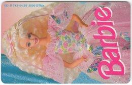 GERMANY O-Serie B-106 - 742 04.95 - Toy, Puppet, Barbie - MINT - Deutschland