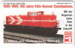 GERMANY O-Serie B-107 - 904 05.95 - Traffic, Train - MINT - Deutschland