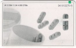 GERMANY O-Serie B-139 - 2384 11.94 - Advertising, Pharmacy - Used - Deutschland