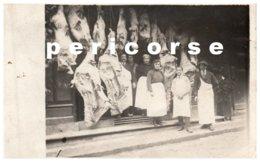 19  Boucherie L.R. Joffre  Personnel Devant   (carte Photo) Rare - Brive La Gaillarde