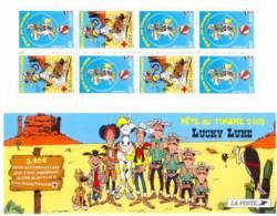 FRANCE 2003 - Journée Du Timbre Lucky Luke - Bande Carnet N° BC 3546a Non Pliée Neuf ** - Booklets