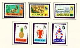BAHAMAS  -  1972-73 Definitives Set Unmounted/Never Hinged Mint - Bahamas (...-1973)