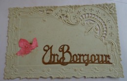 Cpa - Souvenir - Un Bonjour - Postales
