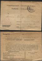 CP De Prisonnier Belge STALAG IIC 15/7/40 (pli + Carton Fragile) - WW II