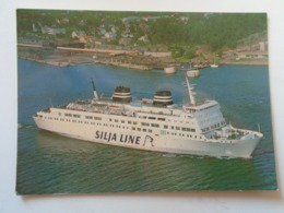 D168570 Finland Suomi -M/S SKANDIA - Silja Line - Turku 1982 - Barcos