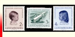 Luxembourg 0528/30 - Clinique Pour Enfants 1957 - - Nuovi