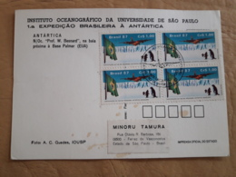 Brésil Première Expédition Brésilienne En Antarctique 1987 - Antarktis-Expeditionen