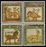 Tunisie N° 1194 / 97  XX Mosaïques Tunisiennes La Série Des 4 Valeurs Sans Charnière TB - Tunisia (1956-...)