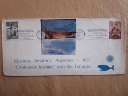 Argentine Antarctique Croisières 1971 - Filatelia Polar