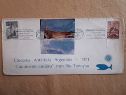 Argentine Antarctique Croisières 1971 - Andere Verkehrsträger