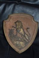 Belle Plaque Souvenir Artisanat De Poilu 371 ème RI Armée Du Rhin - 1914-18