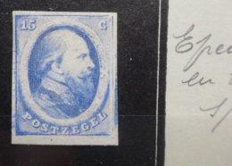 NEDERLAND   1864  Nr. 4    Proefdruk   Zie Foto - 1852-1890 (Guillaume III)